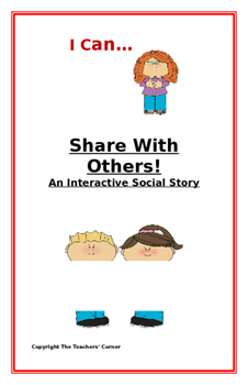 "Social Story-Interactive Style: ""I Can Share With Others"""