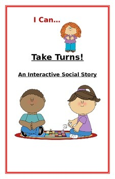 "Social Story- Interactive Style:  ""I Can Take Turns"""