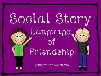 Social Story: Language of Friendship