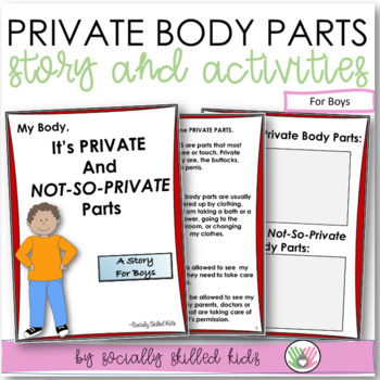 SOCIAL STORY~ My Body, Its Private And Not-So-Private Part