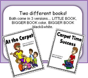 Social Story PLUS (Illustrated) - Carpet Time