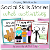 SOCIAL STORY~ Pack 1 {Coping Strategies Pack, For 3rd-5th