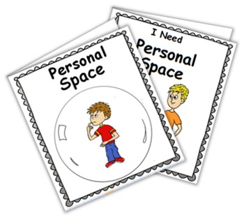 Social Story (Illustrated) - Personal Space
