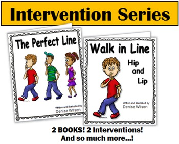 Social Story Plus (Illustrated) - Walking in Line Hip & Lip