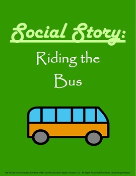 Social Story: Riding the Bus