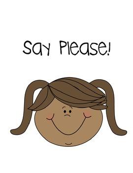 Social Story- Say Please!