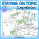 Social Story- Staying on Topic