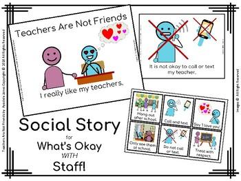 Social Story: Teachers Are Not Friends