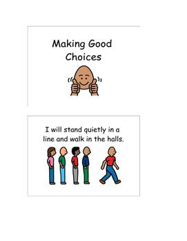 Social Story-Making Good Choices