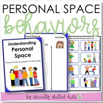 SOCIAL SKILLS ACTIVITIES: Personal Space {Differentiated~