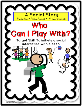 Social Story for Autism - INITIATE A SOCIAL INTERACTION WI