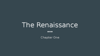 Social Studies 8 Chapter One: Time of Change