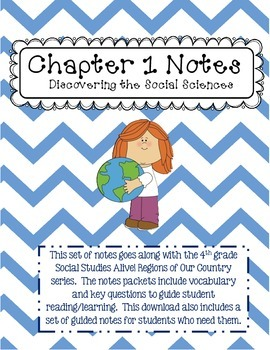 Social Studies Alive Ch. 1 Notes 4th Grade