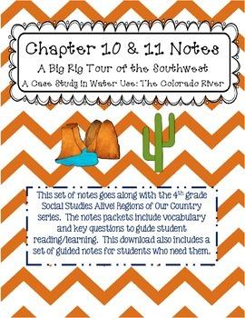 Social Studies Alive Ch. 10 & 11 Notes 4th Grade