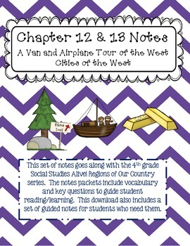 Social Studies Alive Ch. 12 & 13 Notes 4th Grade
