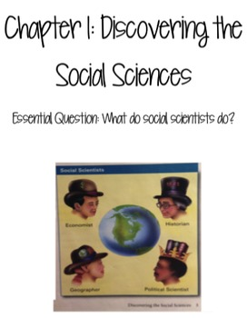 Social Studies Alive! Chapter 1: Discovering the Social Sciences