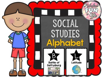 Social Studies Alphabet