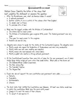 Social Studies Assessment Bundle