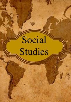 Social Studies Binder Cover