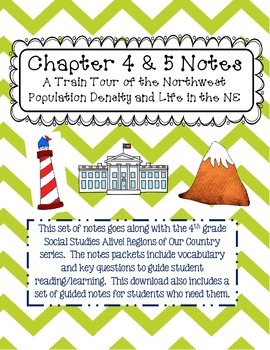 Social Studies Alive Ch. 4 & 5 Notes 4th Grade