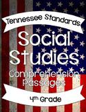 Social Studies Comprehension Passages 4th Grade