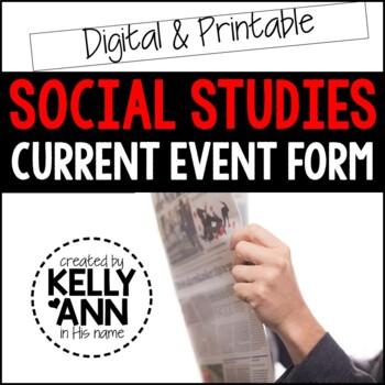 Current Event - Social Studies