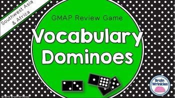 Social Studies Dominoes - 7th Grade GMAP Review (Set 1 of 2)