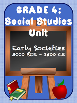 Early Societies 3000 BCE – 1500 CE FULL UNIT!