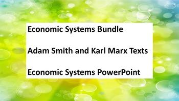 Social Studies Economics Economic Systems Marx Adam Smith