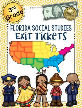 Social Studies Exit Tickets: 3rd Grade