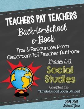 Social Studies: Free Back-to-School eBook for Grades 6-12