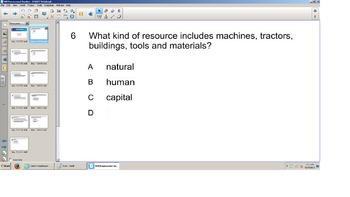 Social Studies, Grade 3 Resources Smart board, Senteo quiz