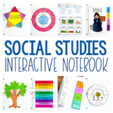 Social Studies Interactive Notebook - Geography, Governmen