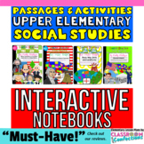 4th Grade Social Studies Interactive Notebook: American Re