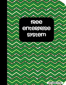 Social Studies Interactive Notebook Free Enterprise System