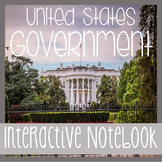Social Studies Interactive Notebook -US Government- With R