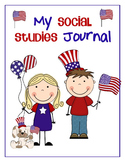 Social Studies Journal for Kinders - Culture