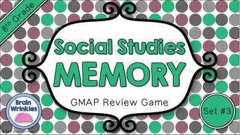 Social Studies Memory - 8th Grade GMAP Review (Set 3 of 5)