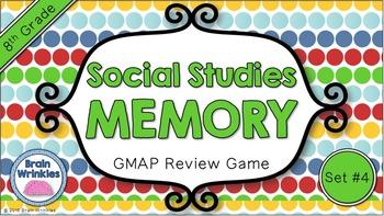 Social Studies Memory - 8th Grade GMAP Review (Set 4 of 5)