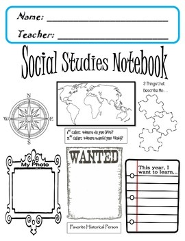 Social Studies Notebook COVER