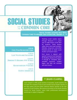 Social Studies and the Common Core: Lesson 1: Civil War Re