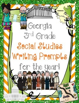 Social Studies for the YEAR {Writing Prompts}