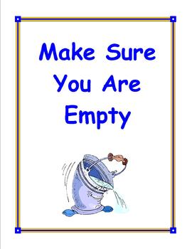 Social Tale - Making Sure You Are Empty - Elementary - Hygiene