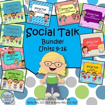 Social Talk BUNDLE 2! Units 9-16