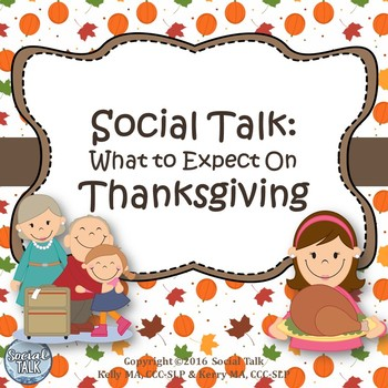 Social Talk, Thanksgiving Social Skills