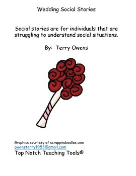 Social stories for wedding events