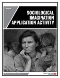 Sociological Imagination Application Activity