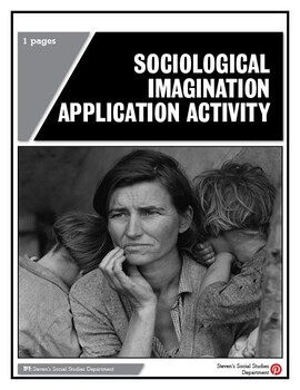 Sociological Imagination Application Activity