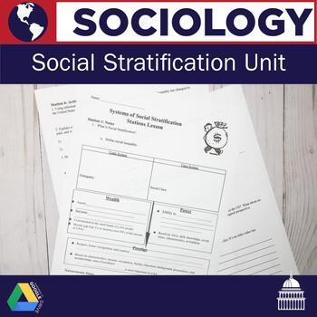 Sociology: Social Stratification Unit