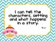 Sock Monkey ~ 1st Grade Common Core I Can Statements